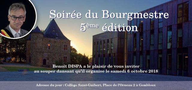 Invitation souper bourgmestre 2018 recto